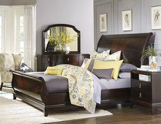 Sophia Sleigh Bed