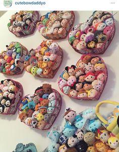 Cute Tsum Tsum Collection Display