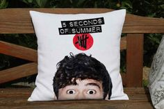 Peeping Calum Pillow | 25 Things Every 5 Seconds Of Summer Fan Needs Before Going Back To School