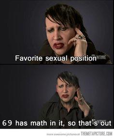 Marilyn Manson's dilemma…