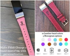 Monogram Fitbit Charge 2 Band, Personalized # #leather #men #woman #band #strap #charge2 #fitbit #monogram #engraved #bracelet #personalized #monogramfitbitband #personalizedfitbit Fitbit Strap, Fitbit Bands, Natural Leather, Soft Leather, Leather Men, Fitbit Bracelet, Charge 2 Bands, Fitbit Charge, Watch Bands