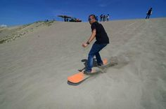 15 Daring Activities to Try- Sand Boarding