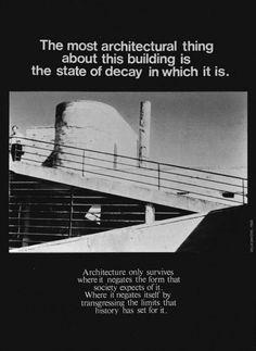 Bernard Tschumi [ Advertisements for Architecture ]