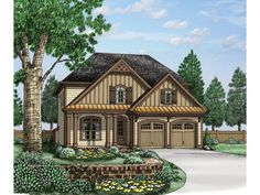 Great efficient use of space! -- ePlans Traditional House Plan – Tech Area, Upstairs Laundry, and Much More – 2543 Square Feet and 4 Bedrooms from ePlans – House Plan Code HWEPL76574