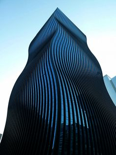 The GT Tower East with Fascinating 'Rippling' Glass Facade- Architecten Consort