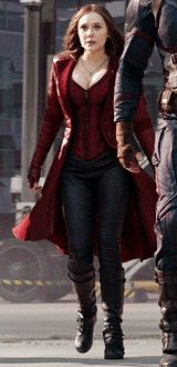Team Captain America: Scarlet Witch