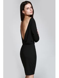 SHARE & Get it FREE | Open Back 3/4 Sleeve Bodycon DressFor Fashion Lovers only:80,000+ Items • New Arrivals Daily Join Zaful: Get YOUR $50 NOW!