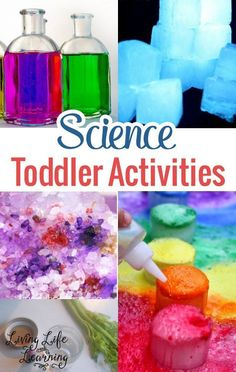 Here are some really awesome Science toddler activities that are both a great introduction to the fascinating world of Science and are also age-appropriate. Come take a look! Aren't they awesome?