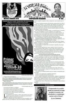 La Voz del Anáhuac Nº 342, febrero de 2018.