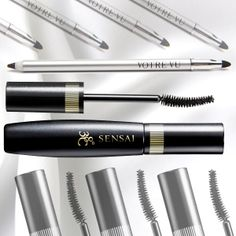 Kanebo Sensai Volumizing Mascara, $34, fattens up each lash for a high-drama look, but won't come off unless you splash water that's 38 C (100 F) or warmer on it.