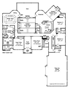 Henry approved Glen Abbey - Home Plans and House Plans by Frank Betz Associates