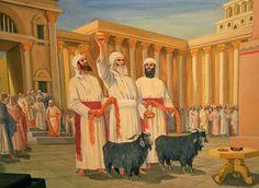 O que é EXPIAÇÃO?  As traduções portuguesas da Bíblia usam muitas vezes o termo expiação ou por vezes propiciação, a propósito dos sacrifícios pelo pecado, onde se diz que o sacerdote cumpre o rito de expiação. (cf. Lv 4).