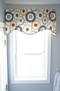 Tutorial For Making A Simple Rod Pocket Valance For The