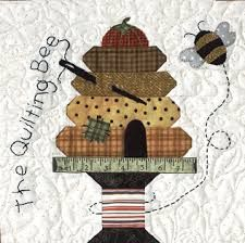 Image result for bee applique quilt pattern