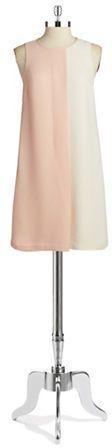 Catherine Catherine Malandrino Colorblock Shift Dress