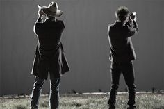 Justified...Raylan and Boyd