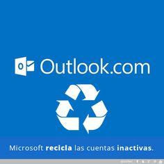 Microsoft anuncia que las cuentas que estén inactivas de Outlook podrán ser recicladas y ser utilizadas por un nuevo dueño