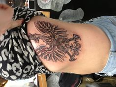 Done by Gordon Combs (Seventh Son Tattoo, San Francisco), a guest artist at the wonderful New York Adorned tattoo parlor in the East Village, NYC! Polish Eagle Tattoo, Tattoo For Son, Eagle Tattoos, Tattoo Parlors, East Village, Eagles, Poland, Tattoo Artists, Tatting