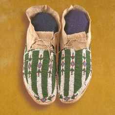 Cheyenne Beaded Moccasins | Moccasin