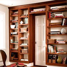 Shelves around door?