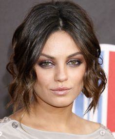 Killing IT... Amazingly sultry makeup .... if only I had hazel/brown eyes! Mila Kounis