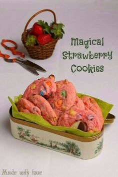 Magical Strawberry Cookies  https://m.facebook.com/story.php?story_fbid=942027079215843&id=324077557677468
