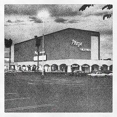Cines viejos en Plaza Las Americas
