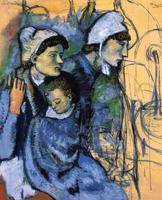 Pablo Picasso, date: ?, Blue Period ?