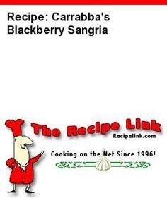 Recipe(tried): Carrabba's Blackberry Sangria - Recipelink.com