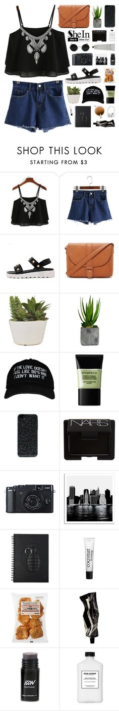 """""""SheIn 3"""" by novalikarida ❤ liked on Polyvore featuring Forever 21, Laura Ashley, Smashbox, Zero Gravity, NARS Cosmetics, Universal Lighting and Decor, philosophy, Aesop, Rodin Olio Lusso and Beats by Dr. Dre"""