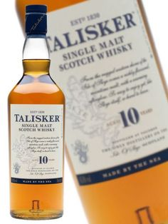 Talisker 10Y Top Drinks, Scotch Whisky, Whiskey Bottle, Wine, Food, Scotch Whiskey, Hoods, Meals