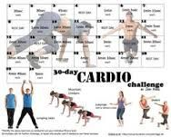 30 day cardio challenge by jodi higgs - Google Search