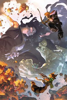 In April, Marvel kicks off new titles, wraps Avengers: No Road Home, and braces itself for the ignition of The War of the Realms event. Marvel Comics Art, A Comics, Marvel Heroes, Marvel Avengers, Marvel Comic Character, Marvel Characters, Comic Book Artists, Comic Artist, Gi Joe