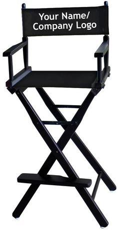 Beau Director Chair   Black For Makeup Masterclass