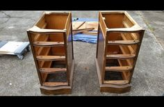 She Bought This Old Desk At A Yard Sale And Cut It In Half. By The Time She's Done, It's Stunning