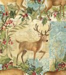 Holiday Inspirations Fabric-Susan Winget Reindeer Patch