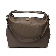 An Hermes Orange Clemence Leather Gao Shoulder Bag. A simple ...