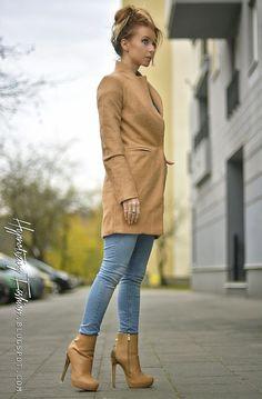 stylizacje z płaszcem jesień 2014