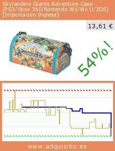 Skylanders Giants Adventure Case (PS3/Xbox 360/Nintendo Wii/Wii U/3DS) [Importación Inglesa] (Accesorio). Baja 54%! Precio actual 13,61 €, el precio anterior fue de 29,45 €. http://www.adquisitio.es/powera/skylanders-gigantes-case