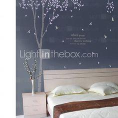 [EUR € 24.74] árbol de papel pintado de la pared