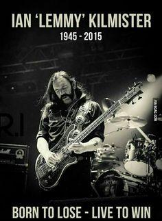 RIP Lemmy Motorhead Kilmister