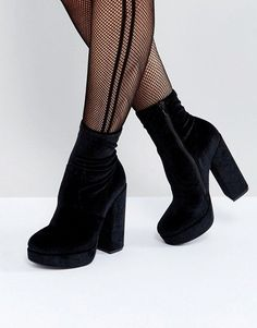 Steve Madden Stardust Heeled Ankle Boots
