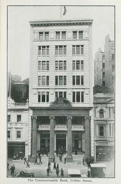 Savings Bank, Historical Architecture, Commonwealth, 1920s, Script, Melbourne, Victoria, Queen, History