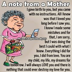 A Note From A Mother funny quotes quote kids mom mother family quote family quotes funny quotes children mother quotes quotes for moms quotes about children My Children Quotes, Quotes For Kids, Child Quotes, Mommy Quotes, Funny Quotes, Mama Bear Quotes, Wisdom Quotes, Life Quotes, Quotes Quotes