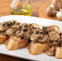 Crostini con Funghi ~ Olive Garden Recipes