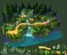ArtStation - Dense-forest, du dongdong
