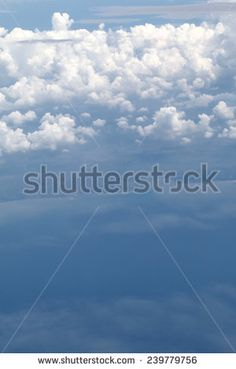 blue sky cloud, sky background - stock photo
