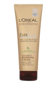 L'Oréal Paris Nourishing & Taming Shampoo on Layered Online - How to chose the right shampoo for your hair type #hair #beauty #shampoo