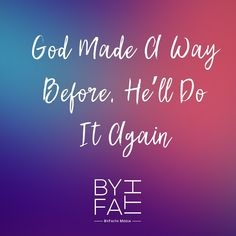 When we need a miracle, an answer to prayer, just remember god made a way b Jesus Quotes, Faith Quotes, Christian Faith, Christian Quotes, Positive Quotes For Work, Spiritual Words, Life Quotes Love, Faith Prayer, Happiness