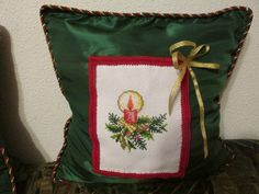 Christmas time ! Christmas Time, Christmas Stockings, Cross Stitch, Pillows, Holiday Decor, Bags, Home Decor, Crossstitch, Purses